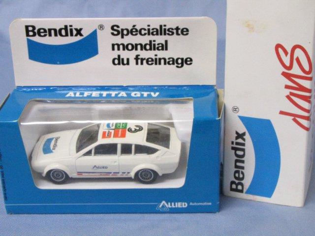 Bendix特注品 solido ALFA ROMEO ALFETTA GTV アルフェッタ 箱付 1/43