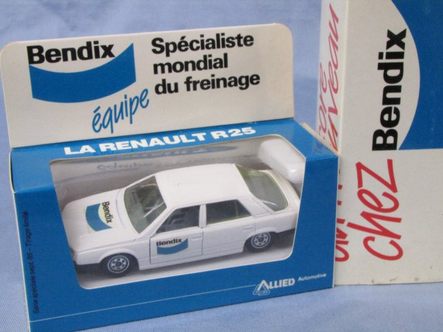 Bendix特注品 solido RENAULT 25 ルノー ヴァンサンク フランス製 箱付 1/43