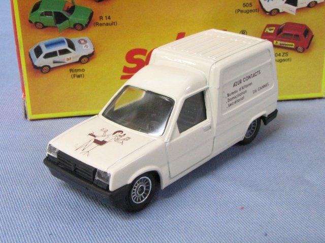 特注solido Renault EXPRESS AZUR CONTACTS ルノー エクスプレス 箱付 1/43