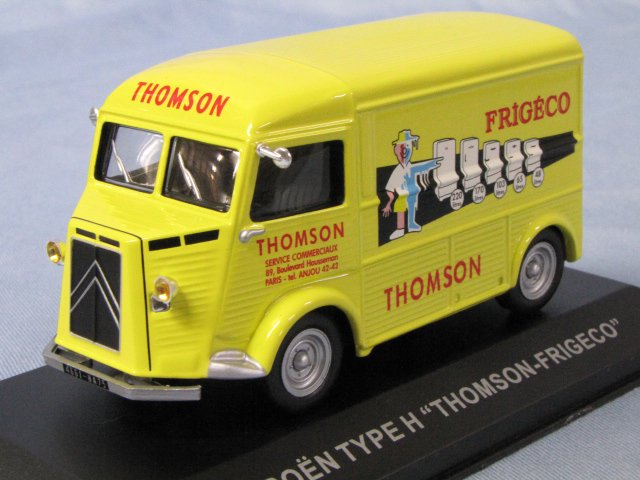 CITROEN TYPE H THOMSON シトロエン Hトラック トムソン冷蔵庫 1/43