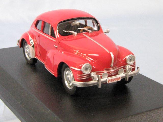 ELIGOR RENAULT 4CV coupe Mouchiro 1953 ルノー 1/43