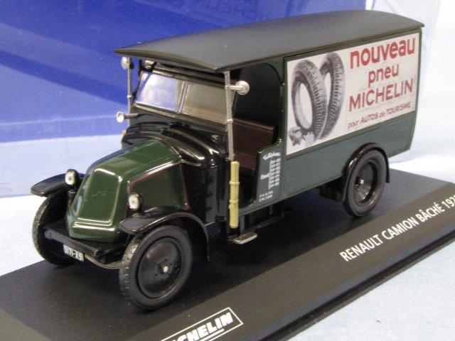 MICHELIN RENAULT CAMION 1925 ルノー ミシュラン トラック 1/43