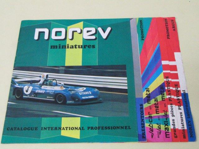 NOREV CATALOGUE ノレブ ミニカーカタログ 1970年代 MATRA SIMCA CITROEN CX