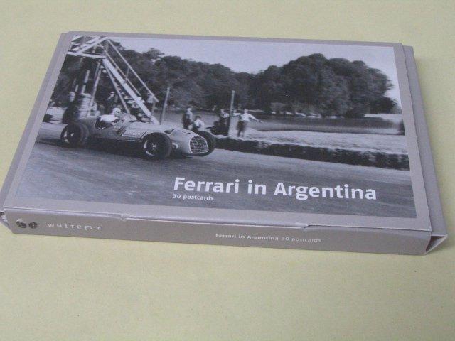 モノクロポストカード FERRARI IN ARGENTINA 30枚セット