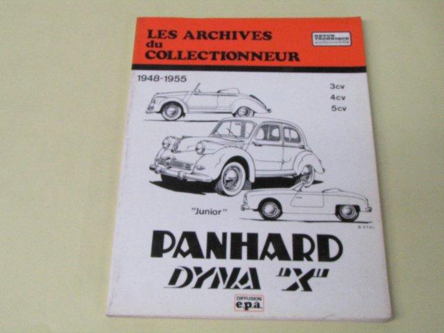 epa REVUE TECHNIQUE PANHARD DYNA X パナール ディナ 整備書 フランス語