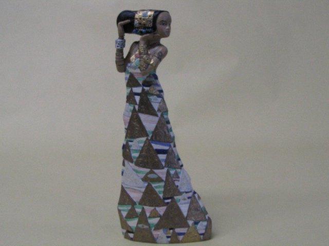 gustav KLYMT クリムト 女性フィギュア 約22cm