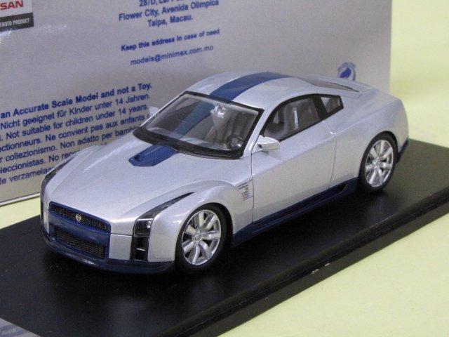 SPARK SKYLINE GT-R CONCEPT 東京モーターショウ 2001 スカイライン 1/43