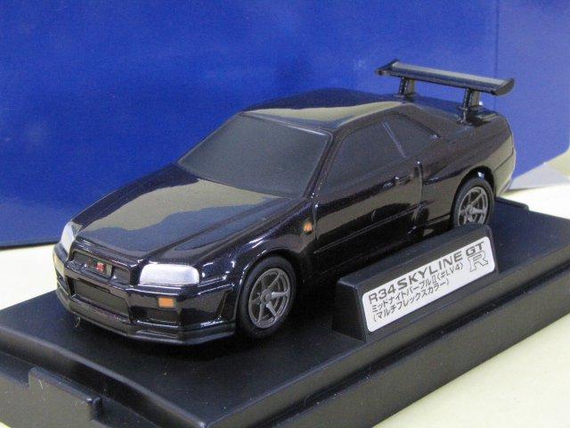 M TECH R34 SKYLINE GT-R スカイライン ミッドナイトパープル2 箱付 1/43
