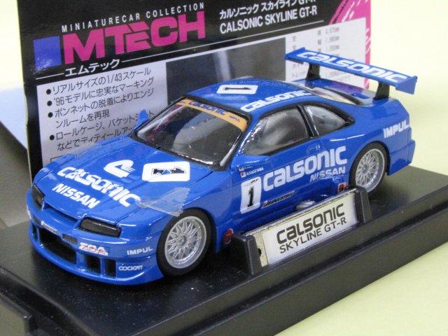 M TECH SKYLINE GT-R CALSONIC #1 スカイライン 箱付 1/43