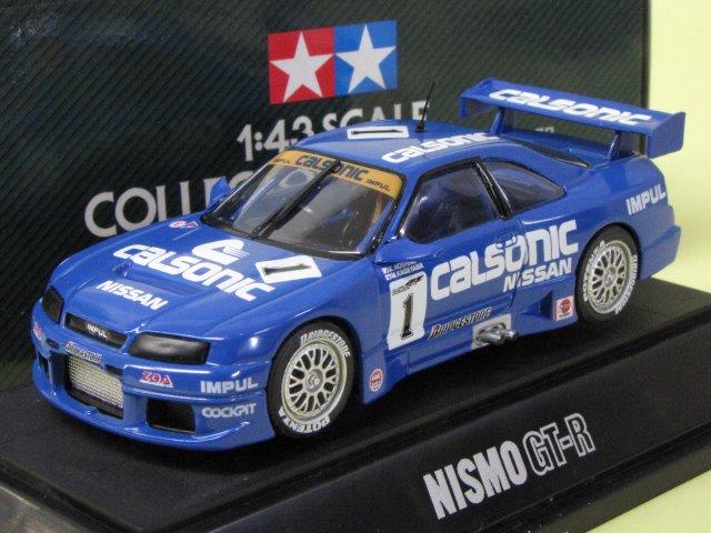 TAMIYA NISMO GT-R calsonic カルソニック スカイライン 箱付 1/43