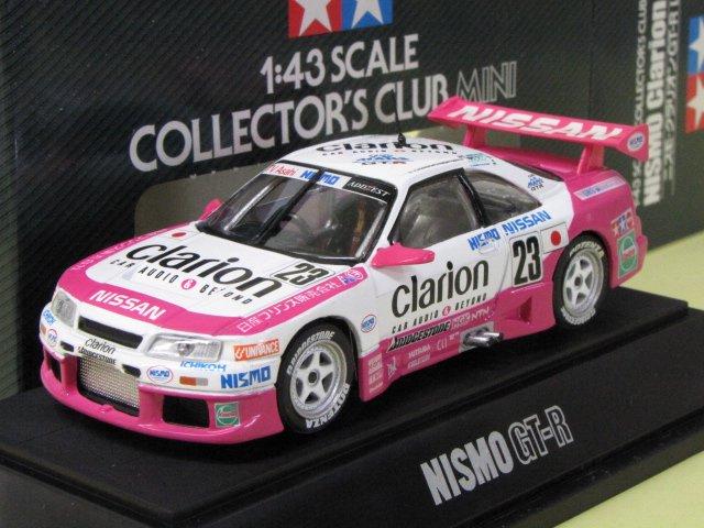 TAMIYA NISMO GT-R clarion クラリオン スカイライン 箱付 1/43
