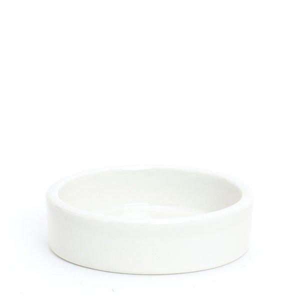 倉敷意匠/白磁丸トレイM