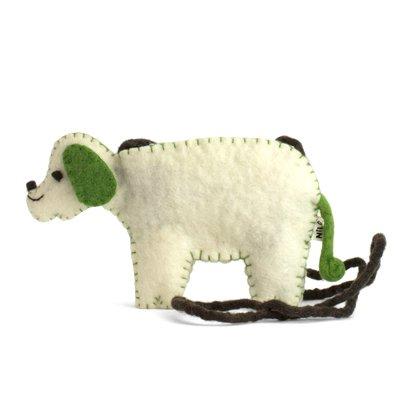 NILO/アニマルポーチ イヌ グリーン(Animal Pouches DOG-green)