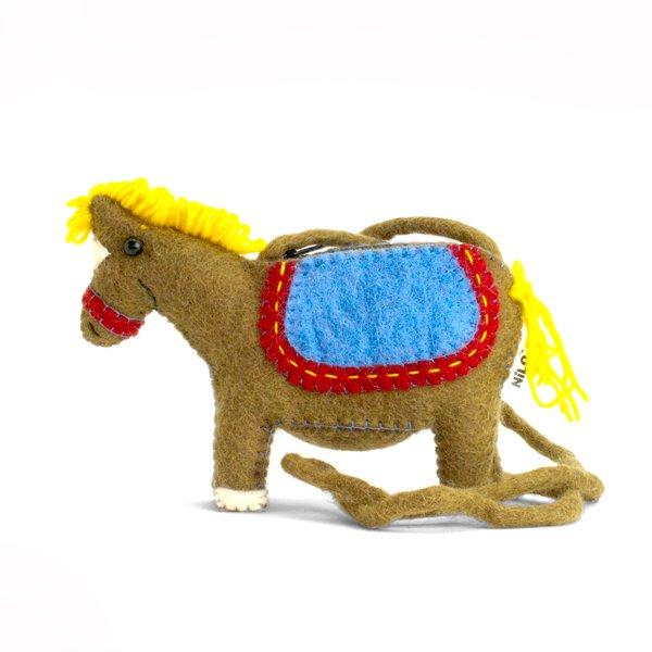 NILO/アニマルポーチ ウマ(Animal Pouches HORSE)