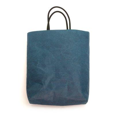 SIWA|紙和/縦型バッグ (ブルー)