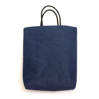 SIWA|紙和/縦型バッグ (ダークブルー)