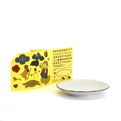 KUTANI SEAL / 花型皿 クタニシールキット-β版 (大黒シールセット ベータ版)