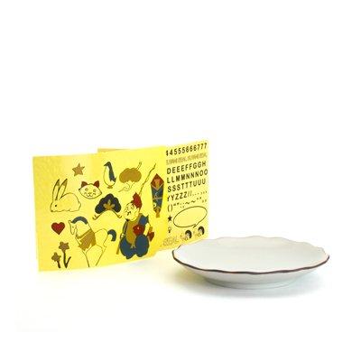KUTANI SEAL / 花型皿 クタニシールキット-β版 (恵比寿シールセット ベータ版)