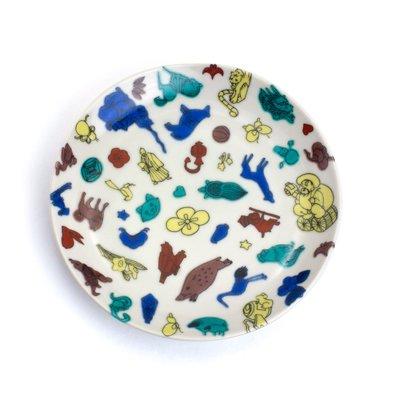 KUTANI SEAL / 丸皿 クタニシール(全員)