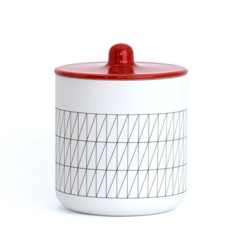 1616/arita japan/S&B container(レッド)