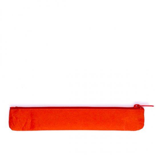 SIWA/ペンケース スリム(オレンジ)