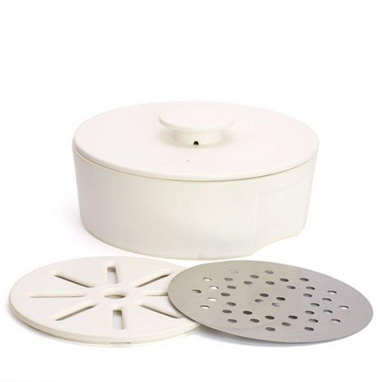 ceramic japan/do-nabe240 IH用プレートセット (ホワイト)