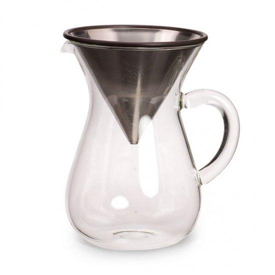 KINTO/コーヒーカラフェセット 600ml (ステンレスフィルター)