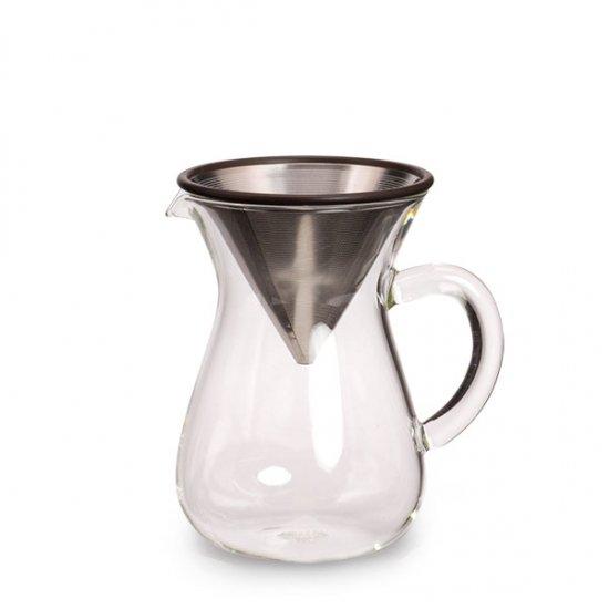 KINTO/コーヒーカラフェセット 300ml (ステンレスフィルター)