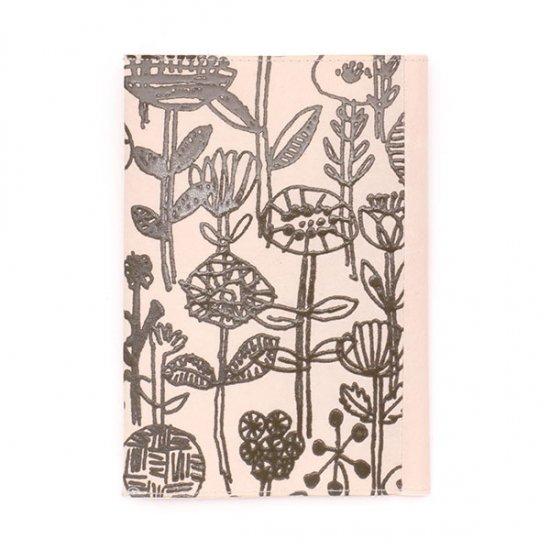SIWA×ミナ ペルホネン/ブックカバー letter of flowers