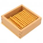10の金ビーズ45本 箱つき と1の金ビーズ100個