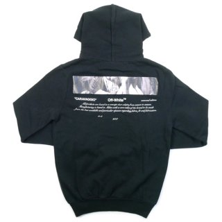OFF WHITE オフホワイト For All 18SS CARAVAGGIO HOODIE パーカー 黒 Size【XS】 【新古品・未使用品】