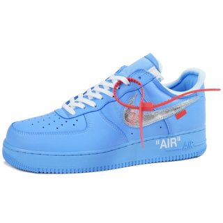OFF WHITE オフホワイト ×NIKE AIR FORCE 1 '07 VIRGIL MCA CI1173 400 スニーカー 水色 Size【28.5cm】 【新古品・未使用品】