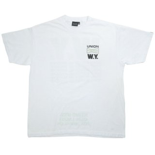 Wasted youth ウェイステッドユース ×UNION TOKYO ユニオン トーキョー Don't Bother Me Tee Tシャツ 白 Size【S】 【新古品・未使用品】