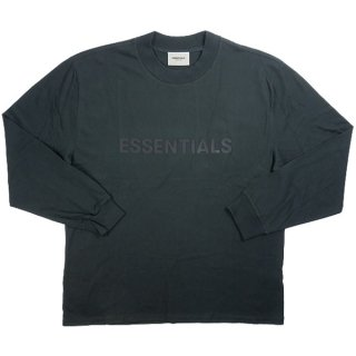 Fear of God フィアーオブゴッド Essentials Black Long Sleeve T-shirt ロンT 黒 Size【XS】 【新古品・未使用品】