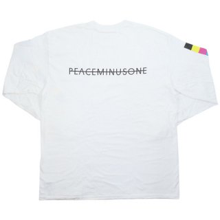 peaceminusone×THE CONVENI×Fragment Design LONG SLEEVE T-SHIRTS ロンT 白【L】 【新古品・未使用品】
