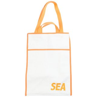 WIND AND SEA×Weekend(ER) Canvas Tote Bag トートバッグ 白 Size【フリー】 【中古品-非常に良い】