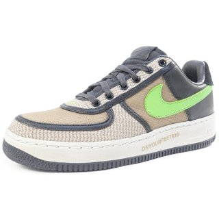 NIKE ×UNDEFEATED AIR FORCE 1 LOW INSIDEOUT PRIORITY 314770-031 2006年モデル 黒茶 【27.0cm】 【中古品-ほぼ新品】