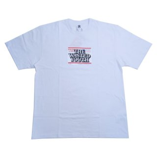 Wasted youth×BLACK EYE PATCH VERDY'S GIFT SHOP 伊勢丹新宿店限定 Tee 白 Size【XL】 【新古品・未使用品】
