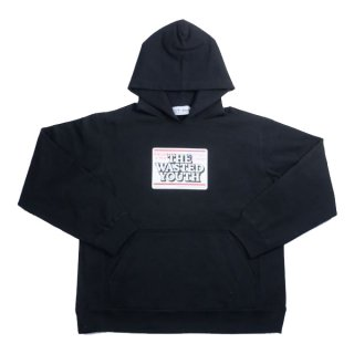 Wasted youth×BLACK EYE PATCH VERDY'S GIFT SHOP 伊勢丹新宿店限定 Hoodie 黒 Size【L】 【新古品・未使用品】