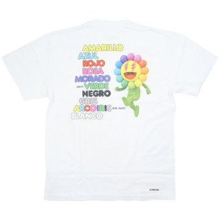 MURAKAMI TAKASHI/村上隆×J Balvin  JB Song List Tee Tシャツ 白 Size【S】 【新古品・未使用品】