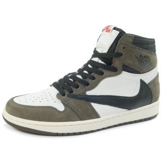 NIKE×TRAVIS SCOTT AIR JORDAN 1 HIGH OG TS SP CD4487-100 スニーカー 茶【26.5cm】 【新古品・未使用品】