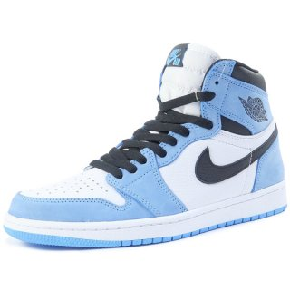 NIKE ナイキ AIR JORDAN 1 RETRO HIGH OG UNIVERSITY BLUE 555088-134 スニーカー 青 Size【26.5cm】 【新古品・未使用品】