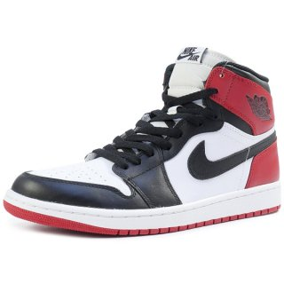 NIKE ナイキ AIR JORDAN 1 RETRO HIGH OG BLACK TOE / つま黒 555088-184 白黒 Size【26.5cm】 【新古品・未使用品】