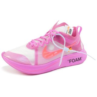 OFF WHITE ×NIKE THE 10 : NIKE ZOOM FLY AJ4588-600 スニーカー ピンク Size【26.0cm】 【新古品・未使用品】
