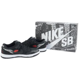 Wasted youth ×NIKE SB DUNK LOW PRO QS 4 Special Box DD8386-001 スニーカー 黒【29.0cm】 【新古品・未使用品】