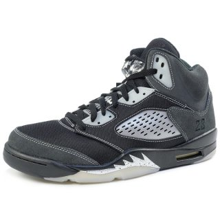 NIKE ナイキ AIR JORDAN 5 RETRO ANTHRACITE DB0731-001 スニーカー 黒 Size【29.5cm】 【新古品・未使用品】