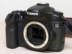 CANON 40D デジタル一眼レフカメラ