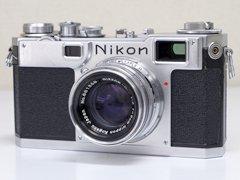 Nikon(ニコン) S2 前期型/Nikkor-H・C f2 5cm(50mm)レンズ付