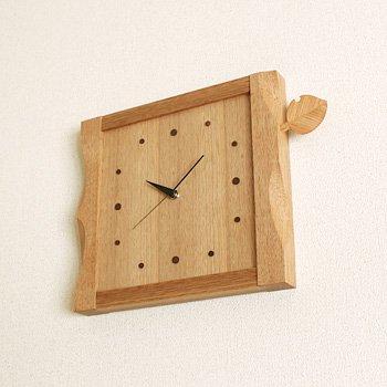 木の葉の時計