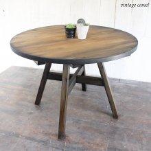 円形ダイニングテーブル  円テーブル 無垢材 FICO DT-014